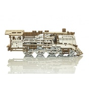 Wooden Express With Rails Wooden City 3D Wooden Model Kit