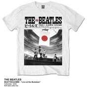 The Beatles Live At The Budokan White TS: Small
