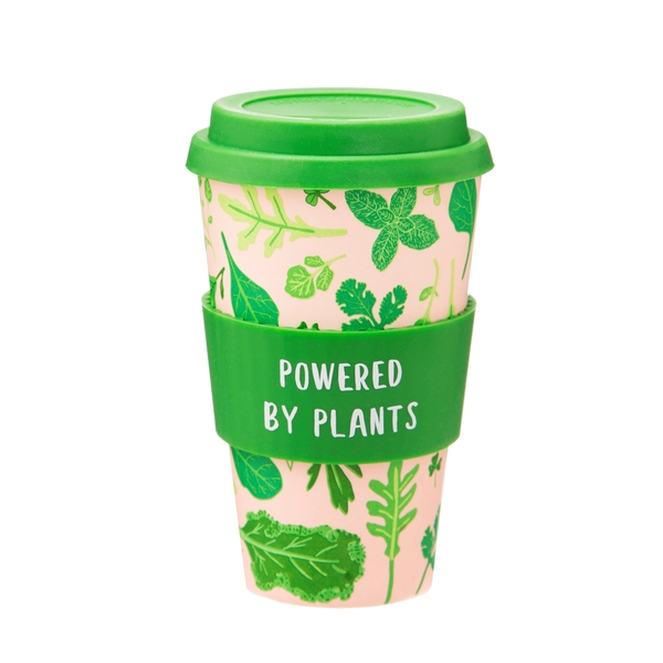 Sass & Belle Powered by Plants Bamboo Coffee Cup