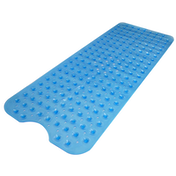 Non-Slip Extra Long Bath & Shower Mat | Pukkr Blue