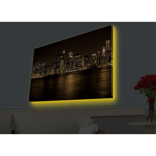4570HDACT-096 Multicolor Decorative Led Lighted Canvas Painting