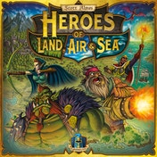 Heroes of Land, Air & Sea Board Game