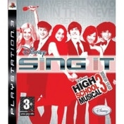 Ex-Display Disney Sing It High School Musical 3 Senior Year Solus Game PS3 Used - Like New
