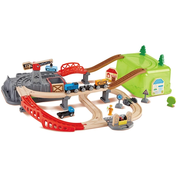 Hape Railway Bucket Builder Playset