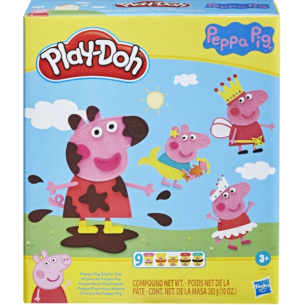 Play-Doh Peppa Pig Styling Playset
