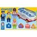 Playmobil 1.2.3 Airport Shuttle Bus - Image 2