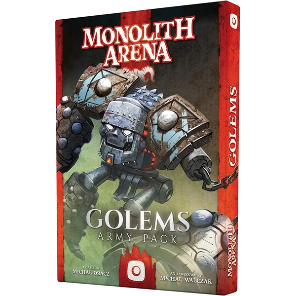 Monolith Arena: Golems Expansion Board Game