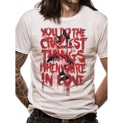 Dc Originals - Craziest Things Men's Small T-Shirt - White