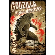 Godzilla (king Of The Monsters) Maxi Poster