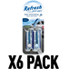 New Car & Cool Breeze (Pack Of 6) Refresh Vent Stick - Image 2