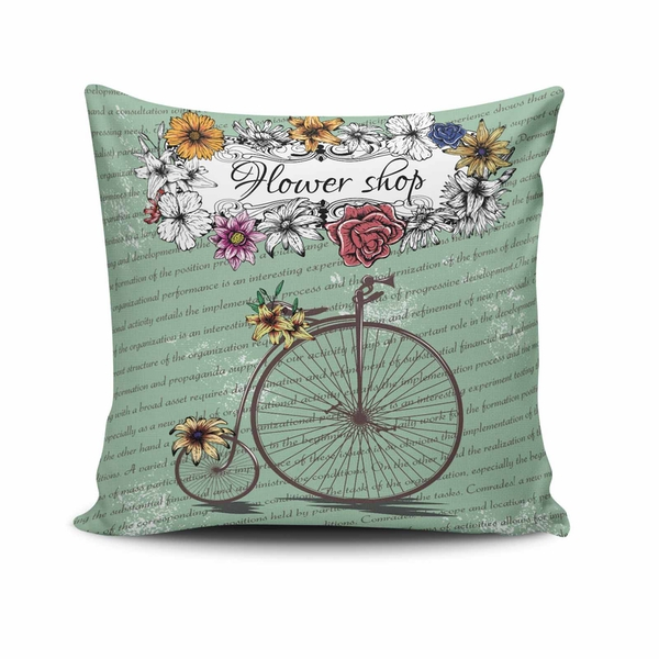 NKLF-296 Multicolor Cushion Cover