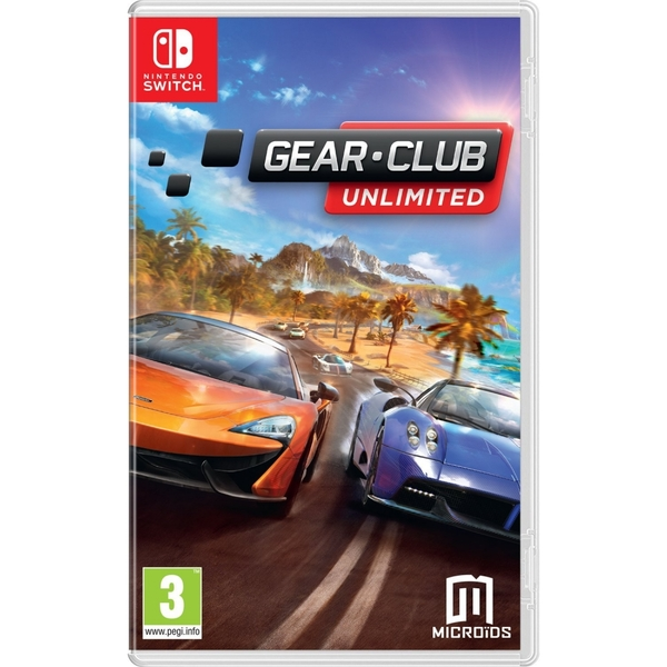 Gear Club Unlimited Nintendo Switch Game