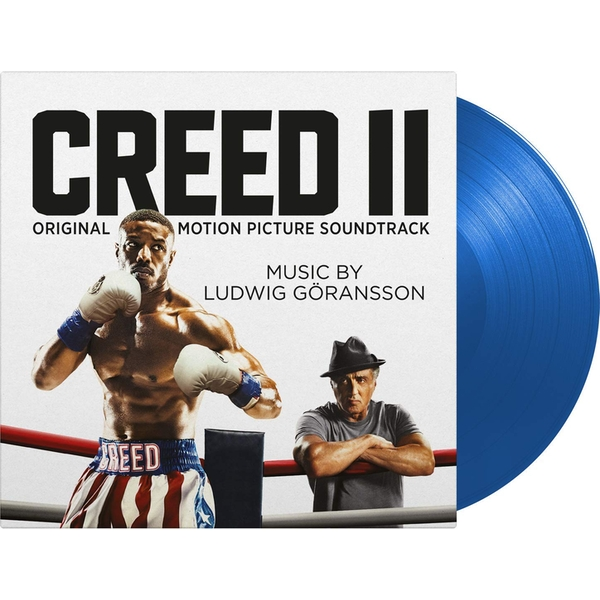 Ludwig Goransson - Creed II Limited Edition Blue Vinyl