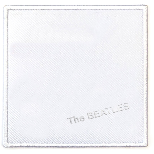 The Beatles - White Album Cover Standard Patch