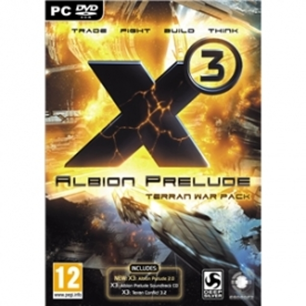 X3 Albion Prelude Terran War Pack Game PC