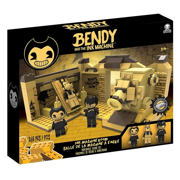 Ex-Display K'NEX Collector Bendy and the Ink Machine Scene Set Used - Like New
