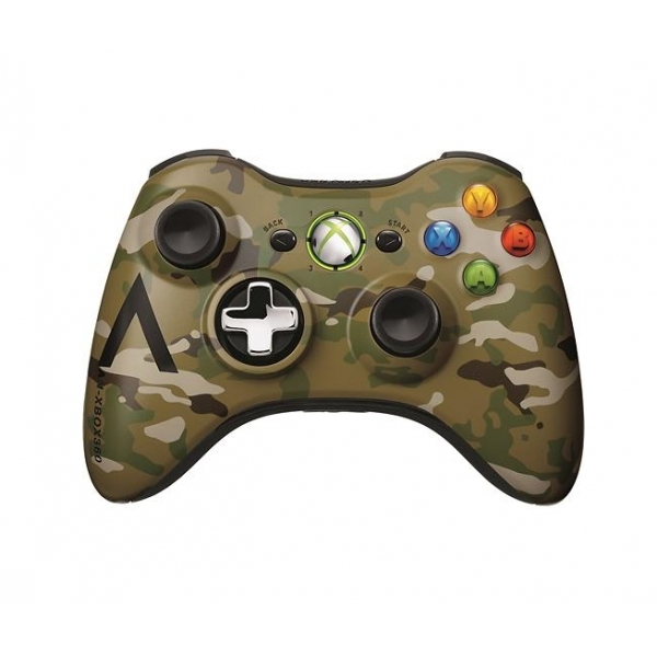 Official Microsoft Special Edition Camouflage Wireless Controller Xbox 360 - Image 2