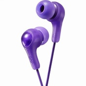 JVC HAFX7V Gumy Plus In Ear Headphones Violet