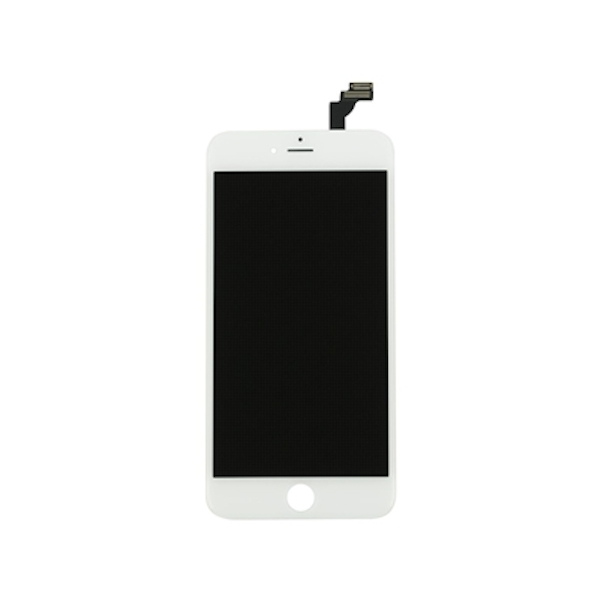 Economy iPhone 6S Plus Compatible Assembly Kit Original Touch Glass Copy LCD - White