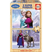 Disney Frozen 2 Super Sisters & Anna's Friends 25 Piece Wooden Jigsaw Puzzles