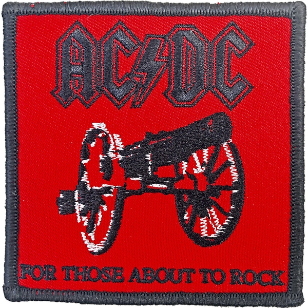AC/DC - For Those About To Rock Standard Patch