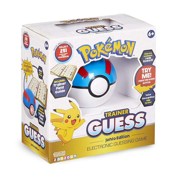 Pokemon Trainer Guess - Johto Edition