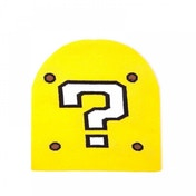Nintendo Super Mario Bros. Question Mark Cuffless Beanie - Yellow