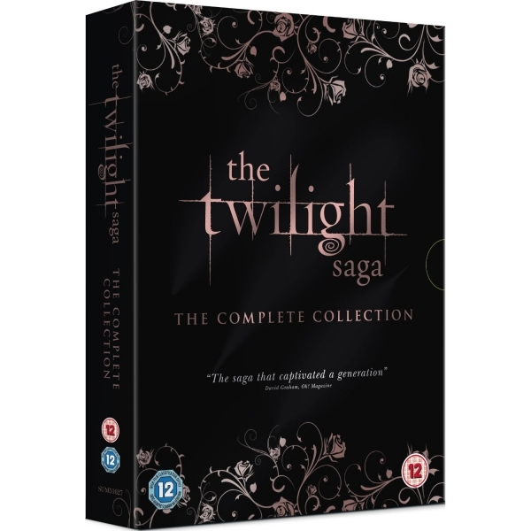 The Twilight Saga The Complete Collection DVD