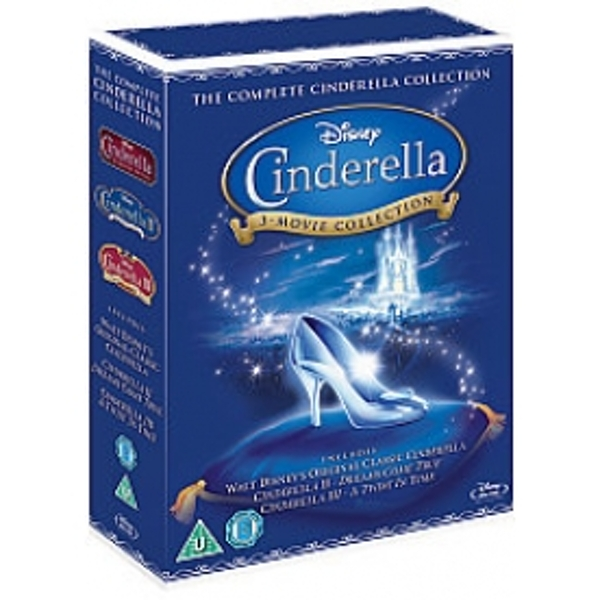 Cinderella 1,2 & 3 Box Set Blu-ray