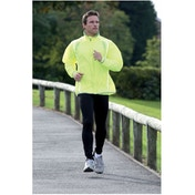 PT Running Rain Jacket Fluo Yellow/Silver 34-36 inch