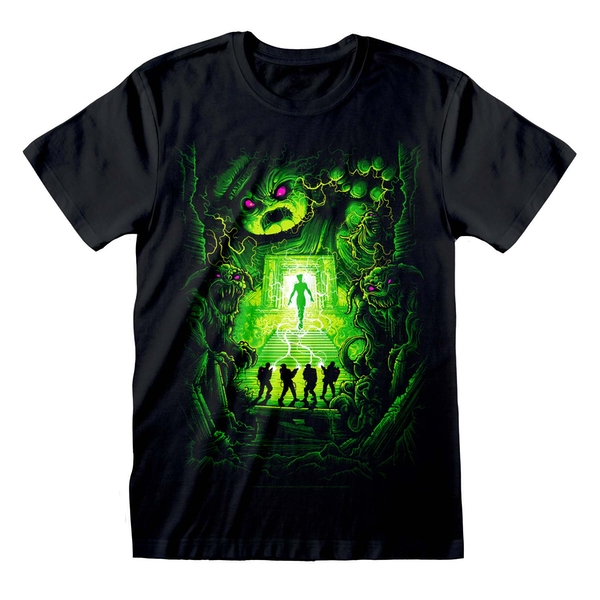Ghostbusters - Dan Mumford Unisex Small T-Shirt - Black