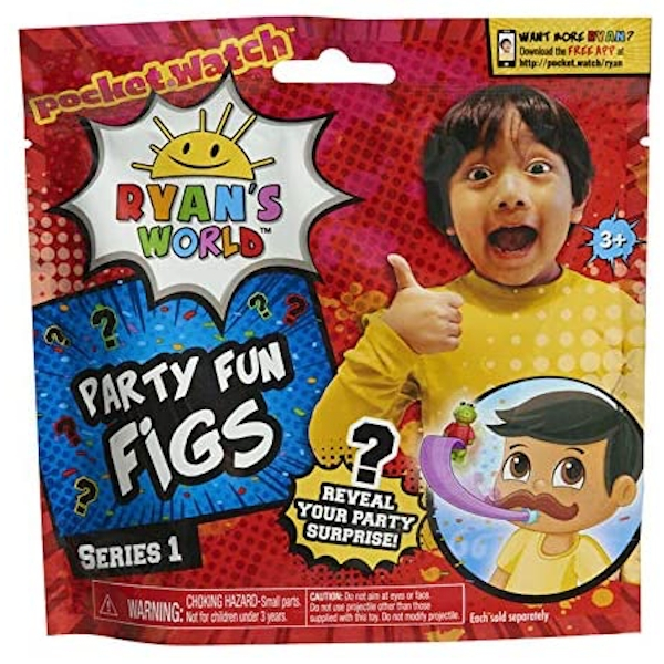 Ryan's World Party Fun Figs (1 At Random)