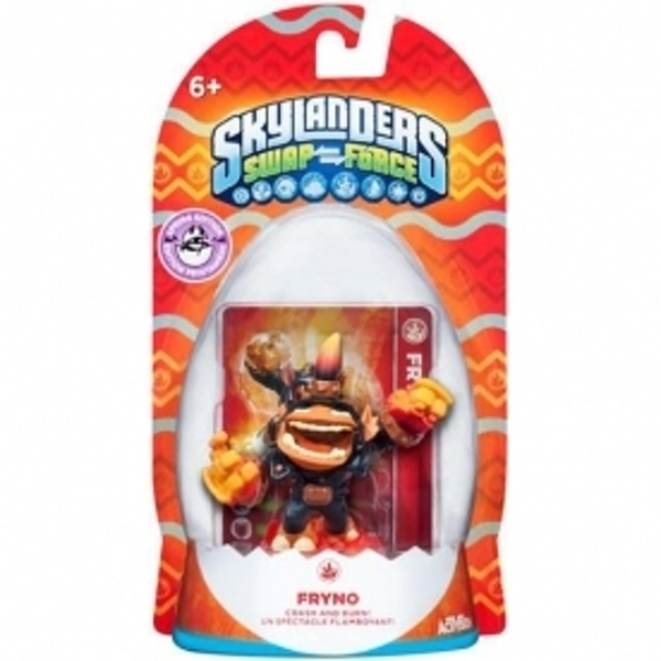 Springtime Fryno (Skylanders Swap Force) Fire Character Figure (Ex-Display) Used - Like New