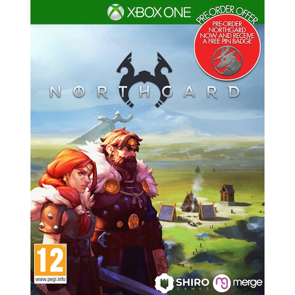 Northgard Xbox One Game (with Pin Badge)