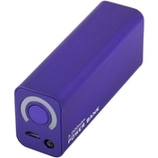 TechConnect 3000mAh Portable Travel Power Bank (Purple)