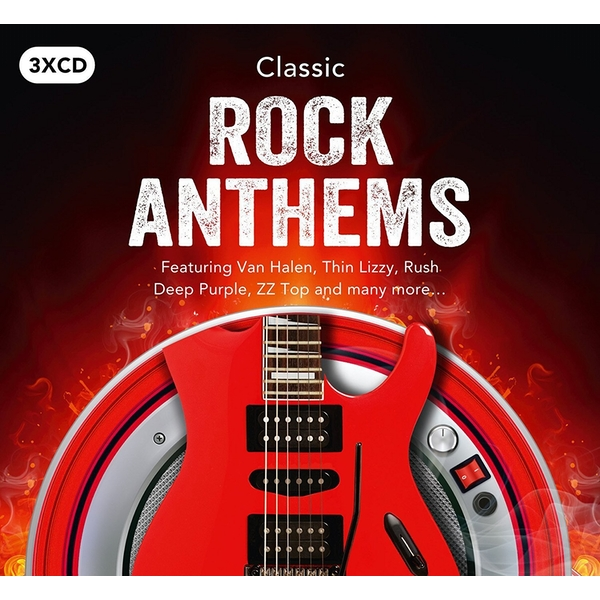 Various Artists - Classic Rock Anthems CD