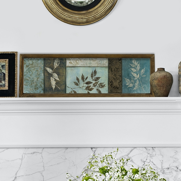 KZM404 Multicolor Decorative Framed MDF Painting