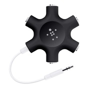 Belkin Rockstar Universal Multi-Headphone Splitter Black