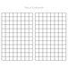 Pack of 2 Wall Hanging Grid Panels | M&W - Image 5