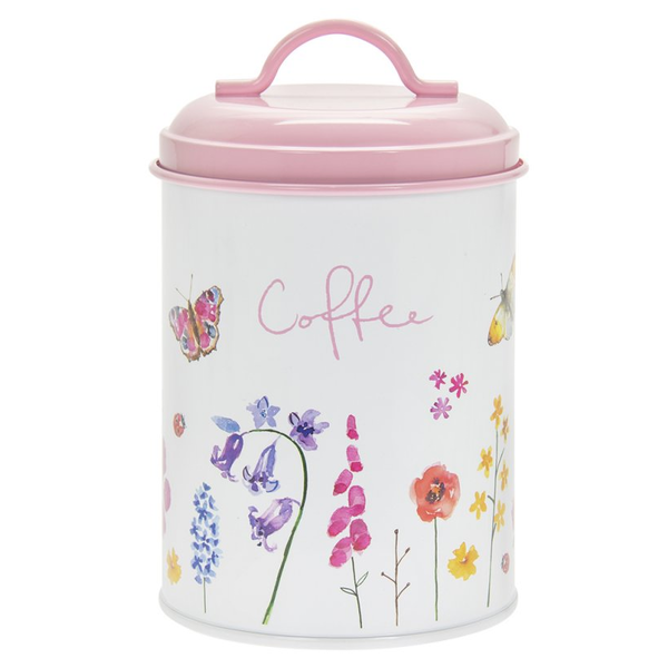 Butterfly Garden Coffee Canister by Lesser & Pavey