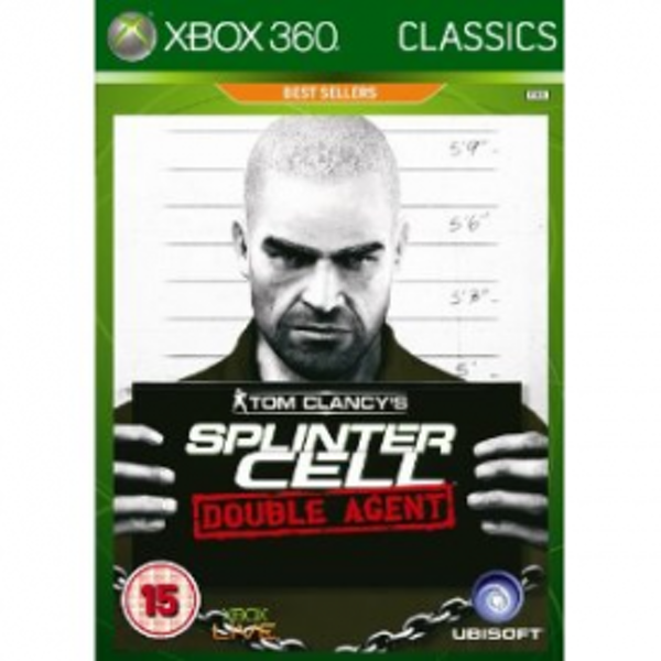 Tom Clancys Splinter Cell Double Agent Game (Classics) Xbox 360