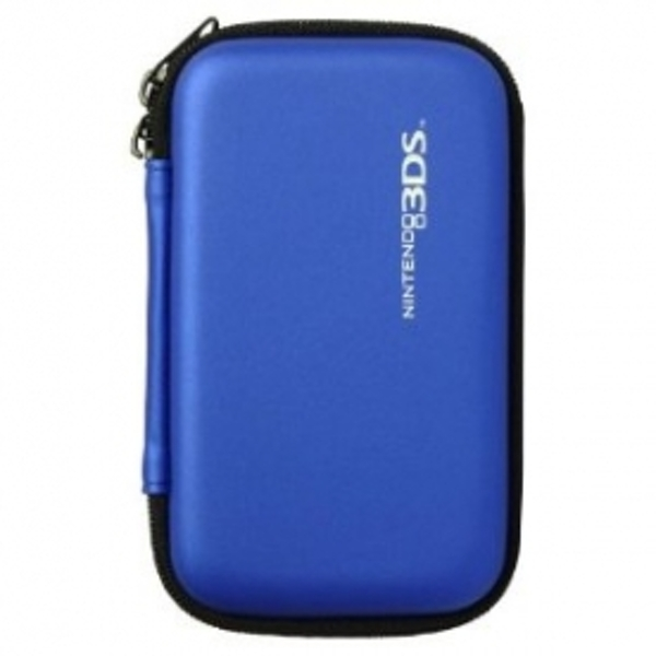 Hori Officially Licensed Hard Pouch Case Blue 3DS/DSi/DSL - Image 1