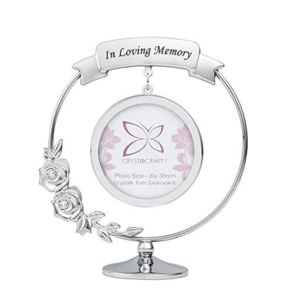 Crystocraft Frame In Loving Memory -Crystals From Swarovski?