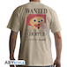 One Piece - Wanted Chopper Men's Small T-Shirt - Beige - Image 2