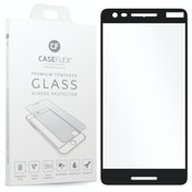 CASEFLEX NOKIA 2.1 TEMPERED GLASS (SINGLE) - BLACK EDGE