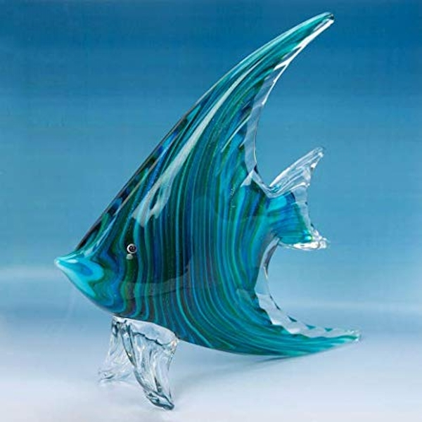 Objets d'Art Glass Ornament - Angel Fish