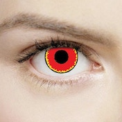 Red Vampire 1 Day Halloween Coloured Contact Lenses (MesmerEyez XtremeEyez)