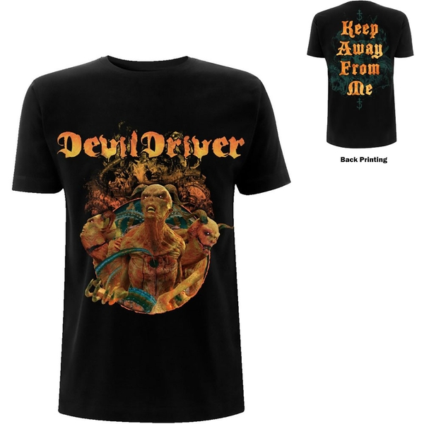 DevilDriver - Keep Away from Me Unisex Large T-Shirt - Black