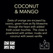 Coconut & Mango (Wonderwick) Noir Country Candle Reed Diffuser - Image 5