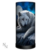 Guardian of the North Wolf Lamp